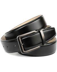 Anthoni Crown Ledergürtel Business-Ledergürtel - Mehrfarbig
