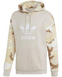 adidas Originals Hoodie »Camouflage Hoodie« Graphics - Braun