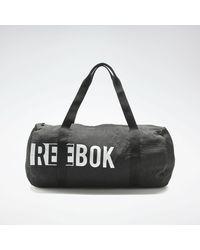 Reebok Shopper »Foundation Cylinder Bag« - Schwarz