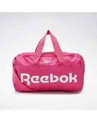 Reebok Sporttasche »Active Core Grip Duffel Bag Small« - Pink