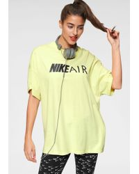 Nike Oversize-Shirt »W NSW AIR TOP BF« Oversized, extra weit geschnitten - Gelb