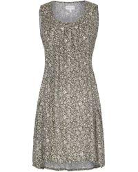 Apricot Druckkleid »Sarasa Print Tunic Dress« mit Eingriffstaschen vorne - Grün
