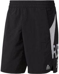 Reebok Shorts »One Series Training Colorblock Shorts« - Schwarz