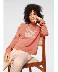 G-Star RAW Sweatshirt Graphic 11 Xzula R Sw Wmn L/s - Oranje