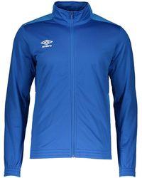 Umbro Sweatjacke »Knitted Jacke« - Blau