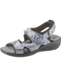 MUBB Sandale mit Metallic-Muster - Mettallic
