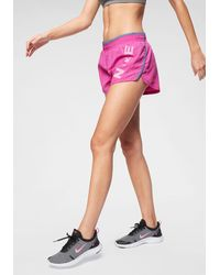 Nike Runningshort Woman Dri-fit Running Shorts - Roze