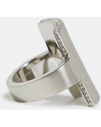 Esprit Statement-Ring aus Edelstahl - Mehrfarbig
