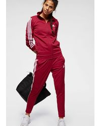 adidas Originals Trainingsanzug »TRACKSUIT TEAM SPORTS« (Set, 2 tlg) - Rot