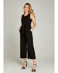 Apricot Jumpsuit »Culotte Jumpsuit with Tie Waist« mit Taillengürtel