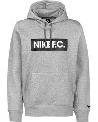 Nike Kapuzenpullover - Grau