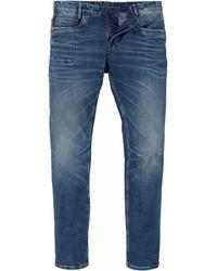 PME LEGEND Tapered-fit-Jeans »SKYMASTER« im Used Look - Blau