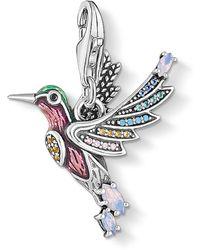 Thomas Sabo Charm-Einhänger Bunter Kolibri silber 1826-845-7 - Mehrfarbig