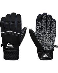 Quiksilver Nu 15% Korting: Snowboardhandschoenen Method - Zwart