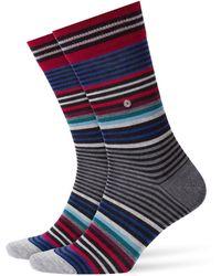 Burlington - Socken »Stripe« (1-Paar) One size fits all (Gr. 40-46) - Lyst