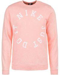 half off e004d f43e3 Sweatshirt »Wash Crew« - Pink