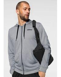adidas Trainingsanzug »MEN TRACKSUIT LINEAR HOODY« (Set, 2-tlg) - Grau