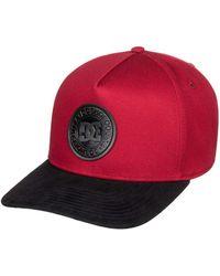 DC Shoes Snapback Cap »Racks« - Rot