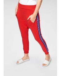 Cotton Candy - Jogger Pants »DILENA« mit seitlichen Kontraststreifen - Lyst