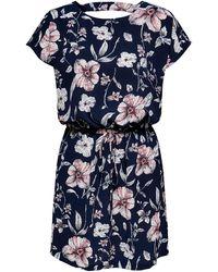 ONLY Sommerkleid - Blau