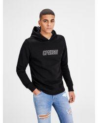 Jack & Jones Print Sweatshirt - Schwarz