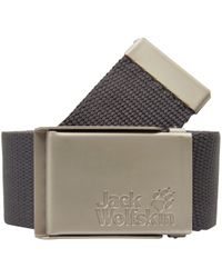 Jack Wolfskin Gürtel »Webbing Wide Belt« - Grau