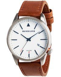 Quiksilver Quarzuhr »The Timebox 42 Leather«