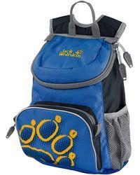 Jack Wolfskin Kinderrucksack »LITTLE JOE«, mit reflektierenden Details - Blau