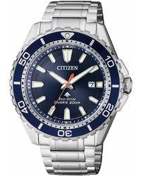 Citizen Taucheruhr BN0191-80L - Blau