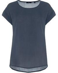 Opus T-Shirt - Grau