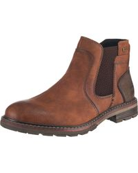 Tom Tailor Chelsea Boots - Braun