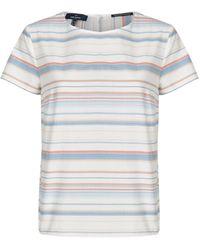 Daniel Hechter Shirtbluse mit geradem Schnitt - Mehrfarbig
