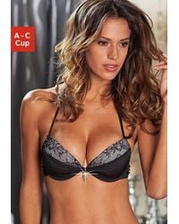 Lascana Push-up-BH - Schwarz