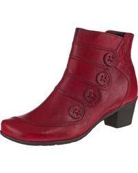 Gabor Klassische Stiefeletten - Rot