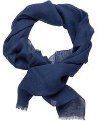Jacques Britt Seidenschal »Custom Fit« cm - Blau