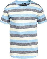 Solid - Rundhalsshirt - Lyst