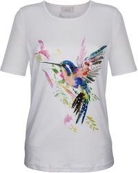 Paola - Print-Shirt mit platziertem Druck - Lyst