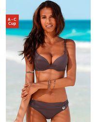 s.Oliver Beachwear Nu 20% Korting: Push-upbikini, S.oliver - Bruin
