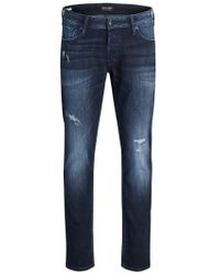 Jack & Jones GLENN ORIGINAL GE 149 50SPS CAMP Slim Fit Jeans - Blau