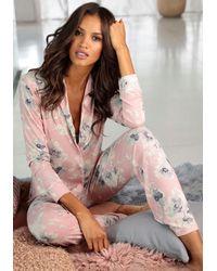 Lascana Pyjama - Roze