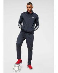 adidas Originals Trainingsanzug »OSR M PES 3S TS« (Set, 2 tlg) - Blau