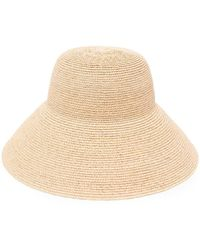 Max Mara Raffia Hat - Natural