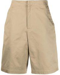 OAMC Shorts Vapor en gabardina de algodón - Neutro