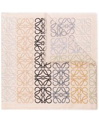 Loewe Chal beige con anagrama multicolor - Neutro