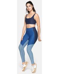 74fceae4024a59 Lyst - Outdoor Voices 7 8 Tri-tone Warmup Legging in Gray