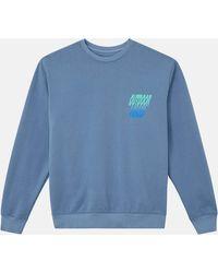 Outdoor Voices Crewneck Sweatshirt - Blue