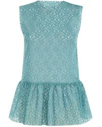 Related - Isabella Top Teal, Honey - Lyst
