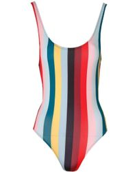 Solid & Striped - The Anne Marie Paradise Stripe - Lyst