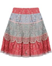 Alexis Zowie Skirt - Red