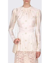 Paco Rabanne Ivory Embroidered Tunic - White